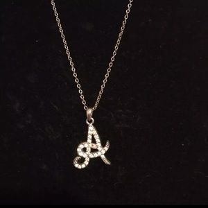 "Jewelry - ""A"" necklace"